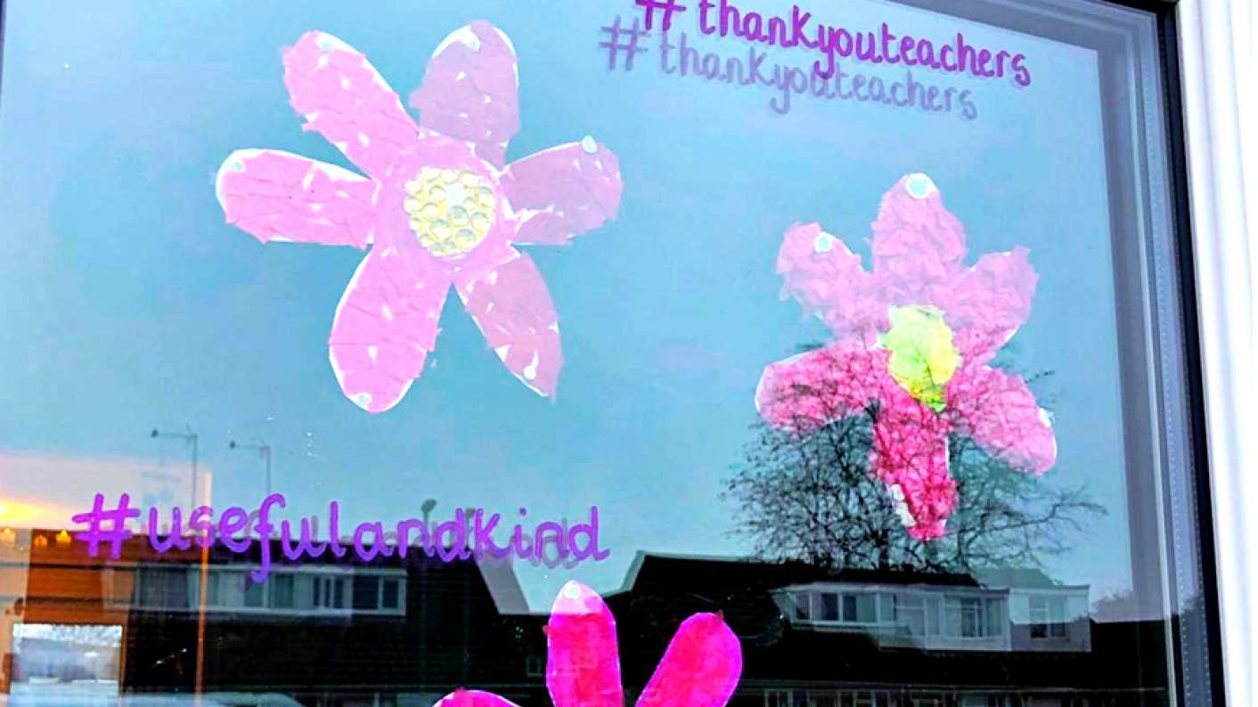 Coronavirus and schools: A charity is encouraging people to show their appreciation of teachers during the pandemic