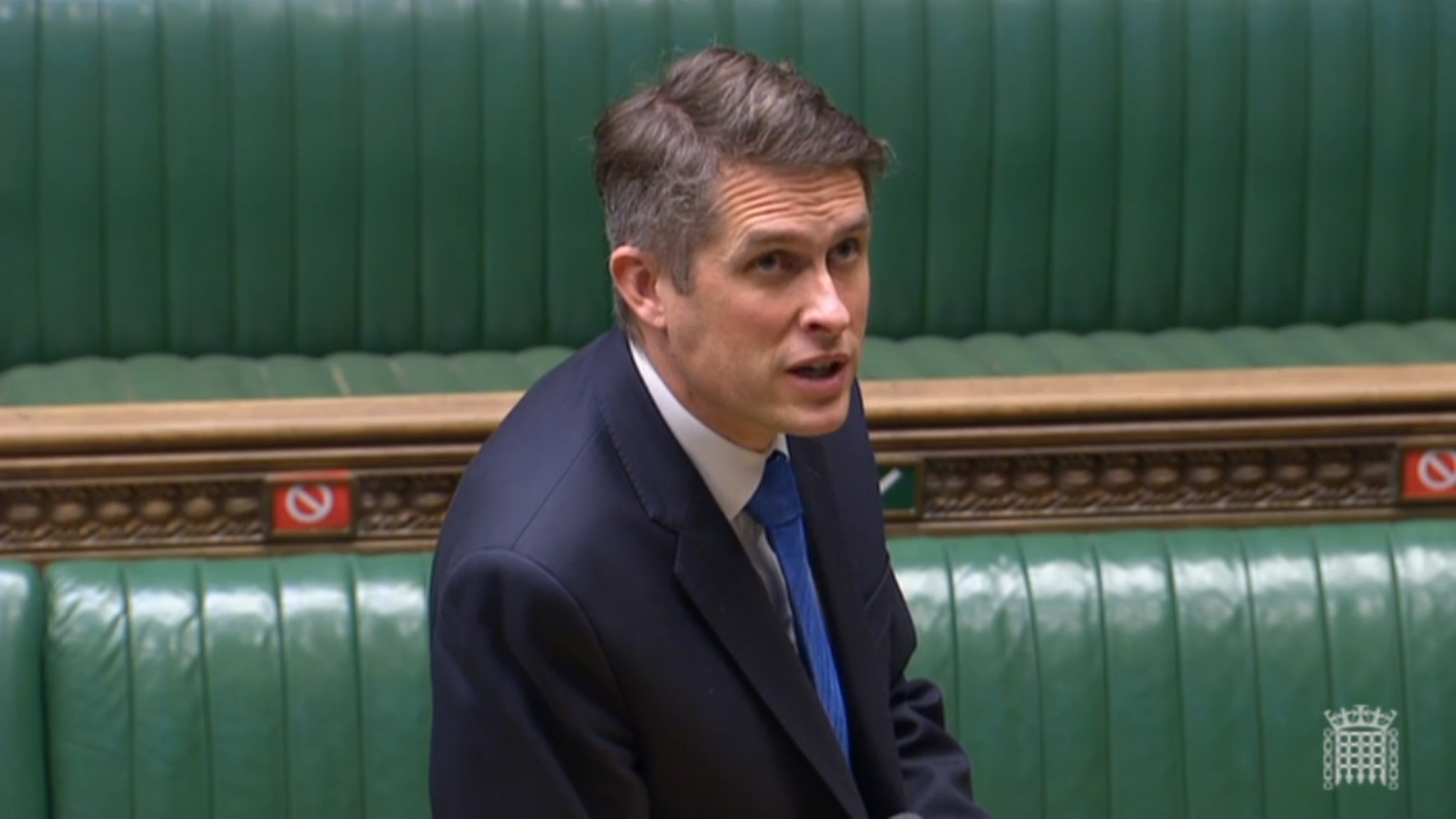 GCSEs and A levels 2021: Education secretary Gavin Williamson says this year's grades won't be pegged to any other year