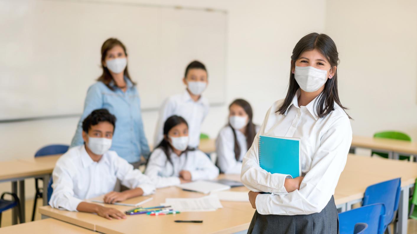 masks in class