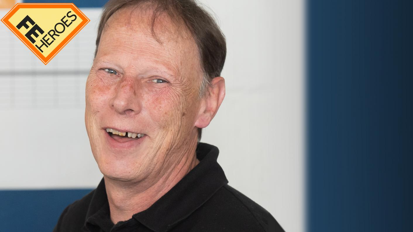 FE Hero: Apprenticeship tutor David Murphy tells us why he enjoys working in FE