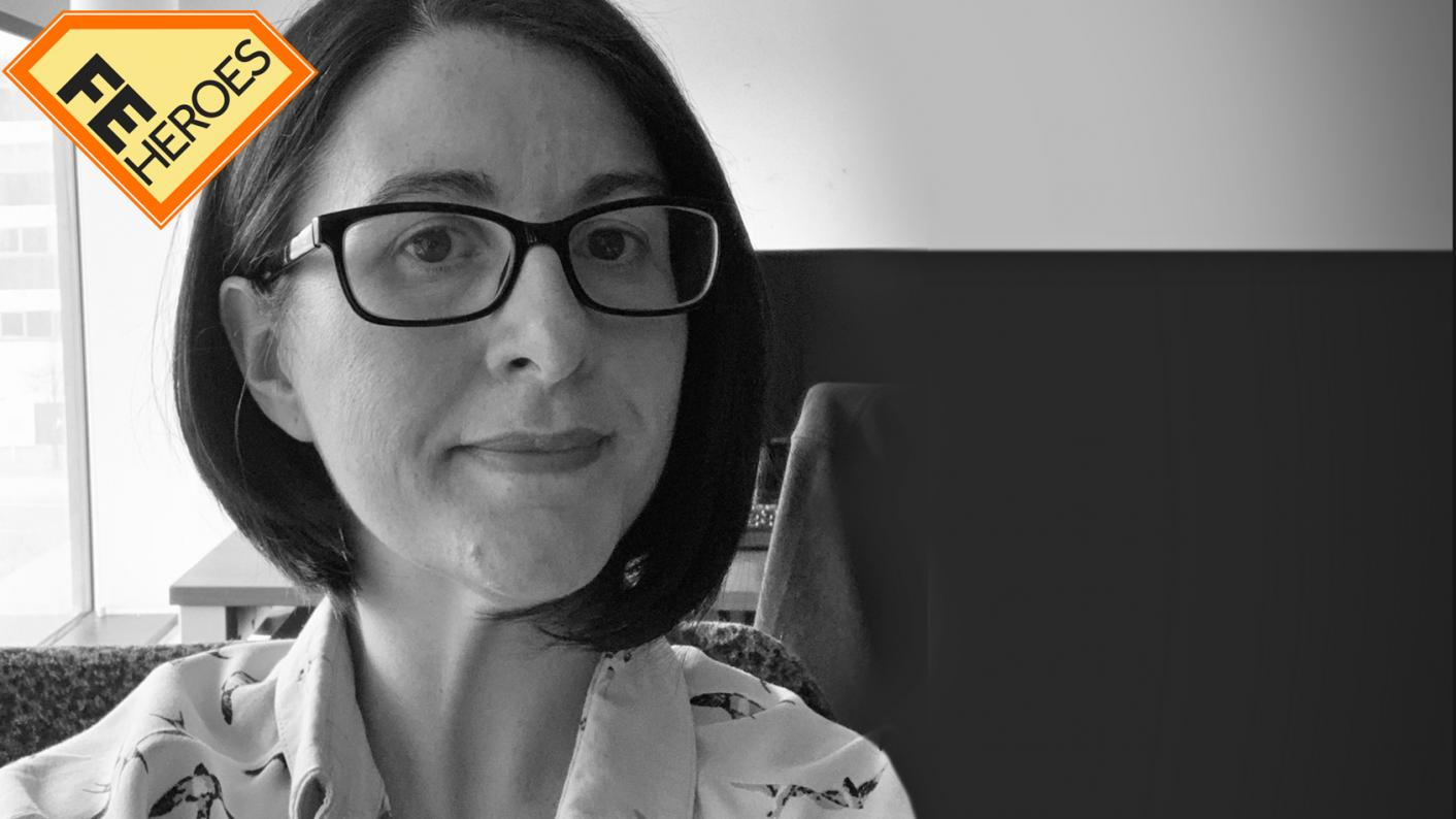 FE Heroes: Covid has led to real connections in colleges, says Lucy Harding