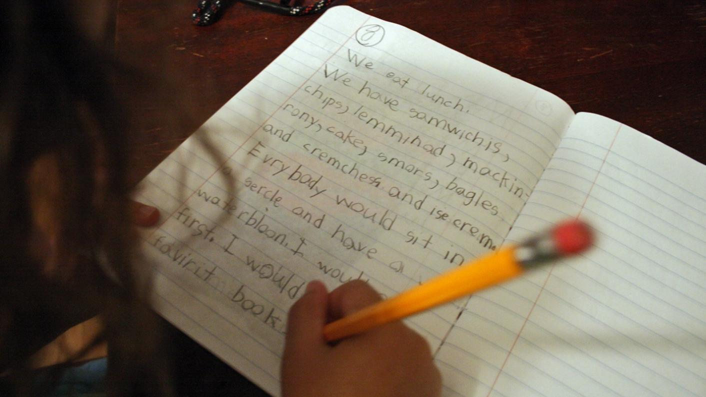 Covid and schools: What impact has lockdown had on pupils' handwriting?